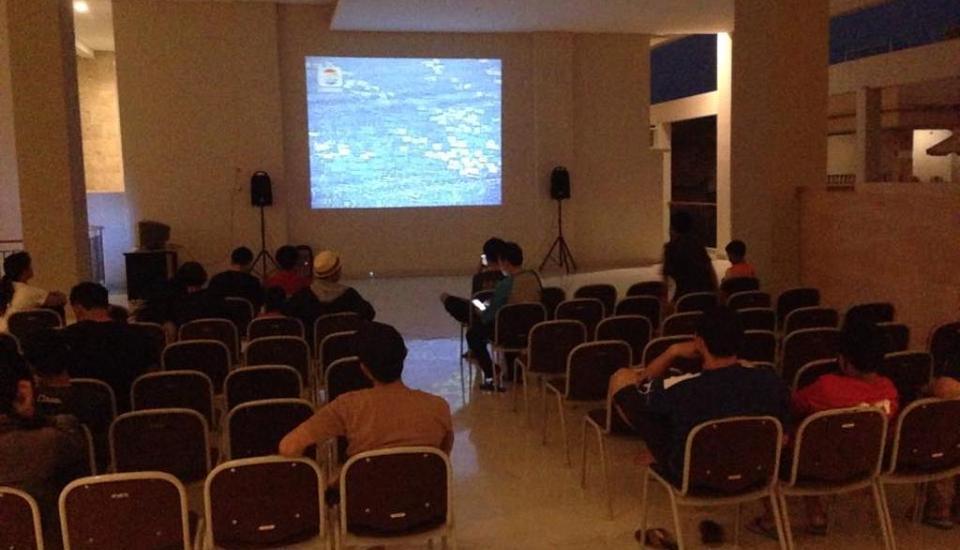 Laut Biru Resort Hotel Pangandaran - Meeting room