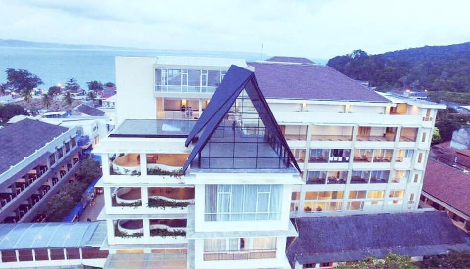 Laut Biru Resort Hotel Pangandaran - Exterior