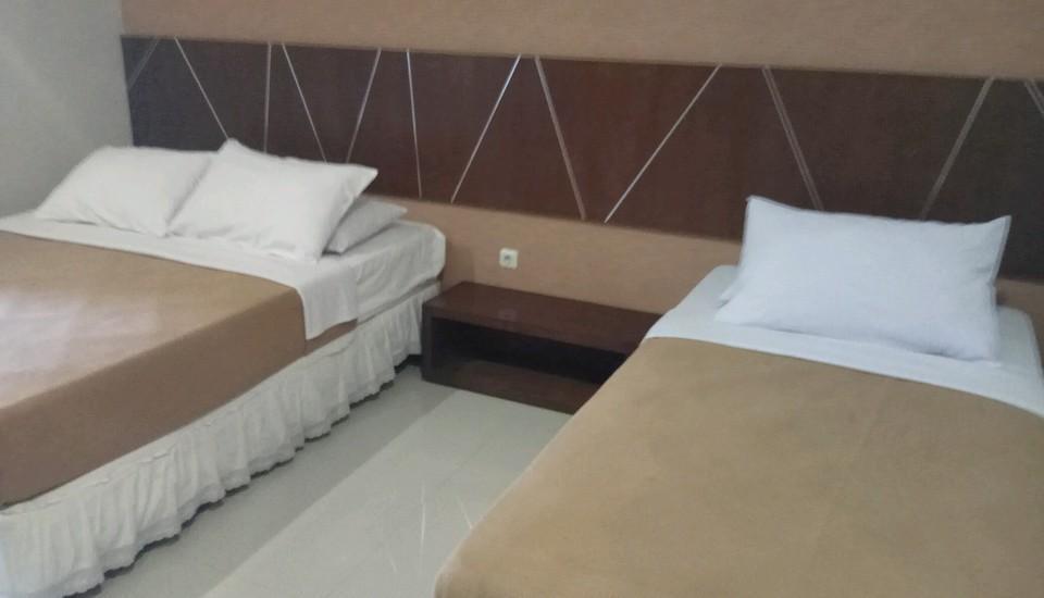 Hotel Wisata Baru Serang - 1 kasur king size, 1 kasur single