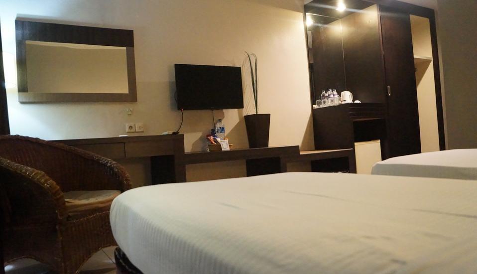 Hotel Surya Duri Bengkalis - Deluxe Double Room Regular Plan