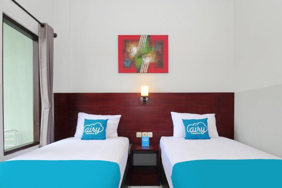 Airy Denpasar Barat Dalung Pondok Asri 9 Bali - Standard Twin Room with Breakfast Special Promo Jan 24
