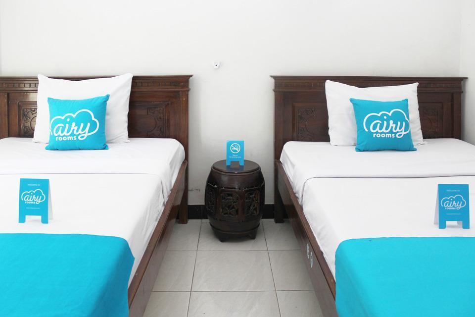Airy Denpasar Utara Cokroaminoto 56 Bali - Standard Twin Room with Breakfast Special Promo Jan 24