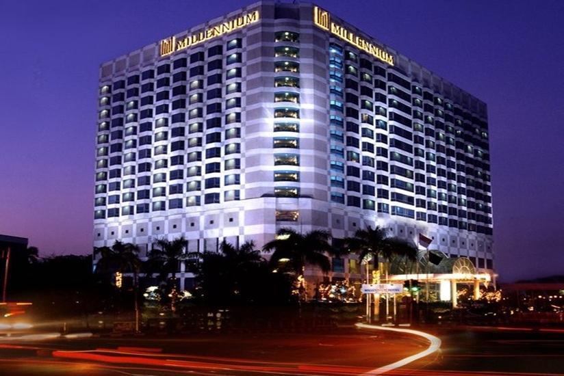 Millenium hotel Jakarta - Tampilan Luar Hotel