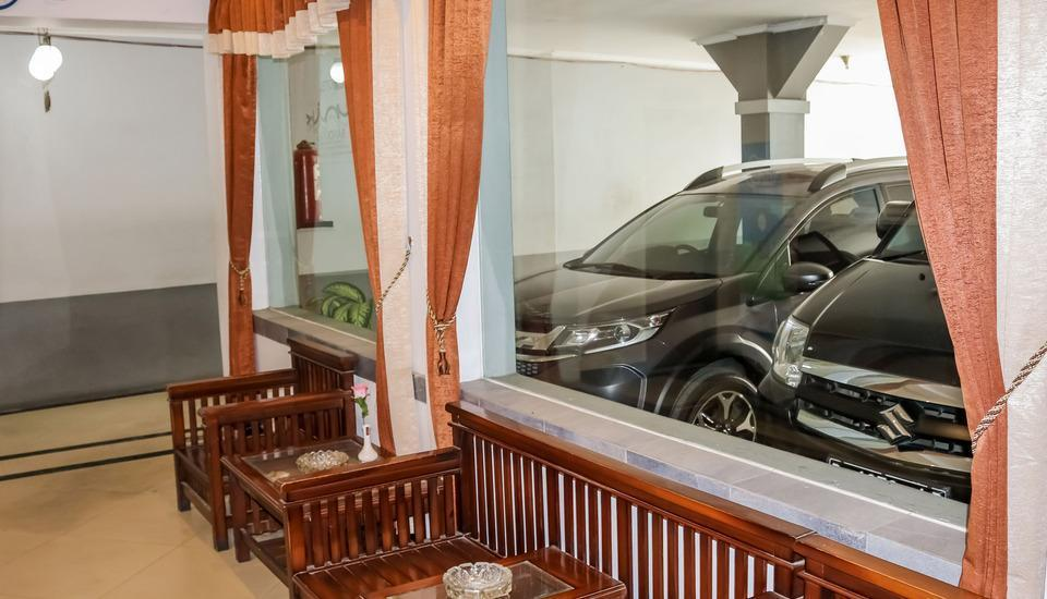 NIDA Rooms Cicendo Trans Bandung - Ruang tamu