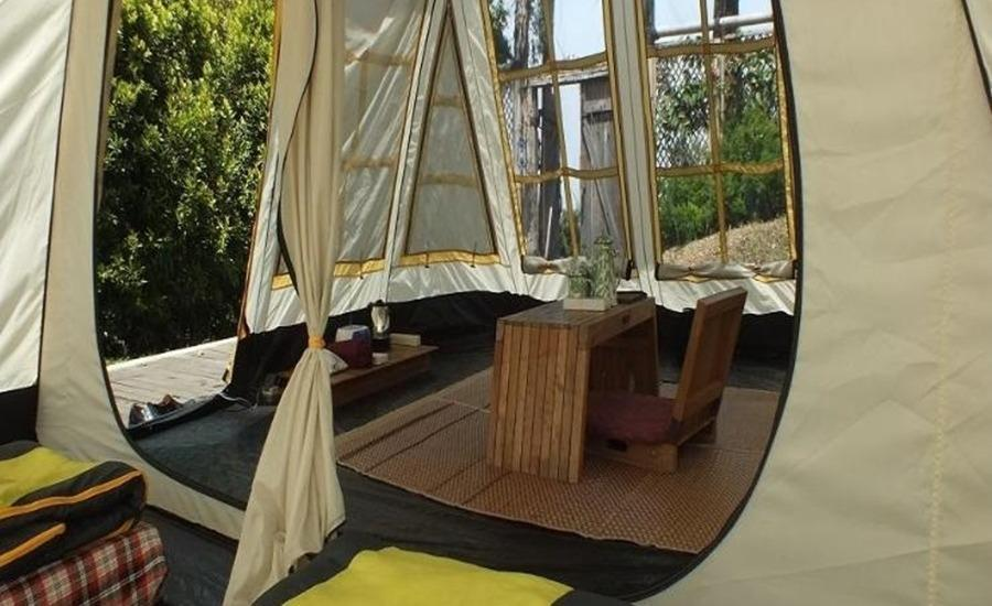 Dusun Bambu Resort Bandung - Single Camping Deck Last Minute Deal