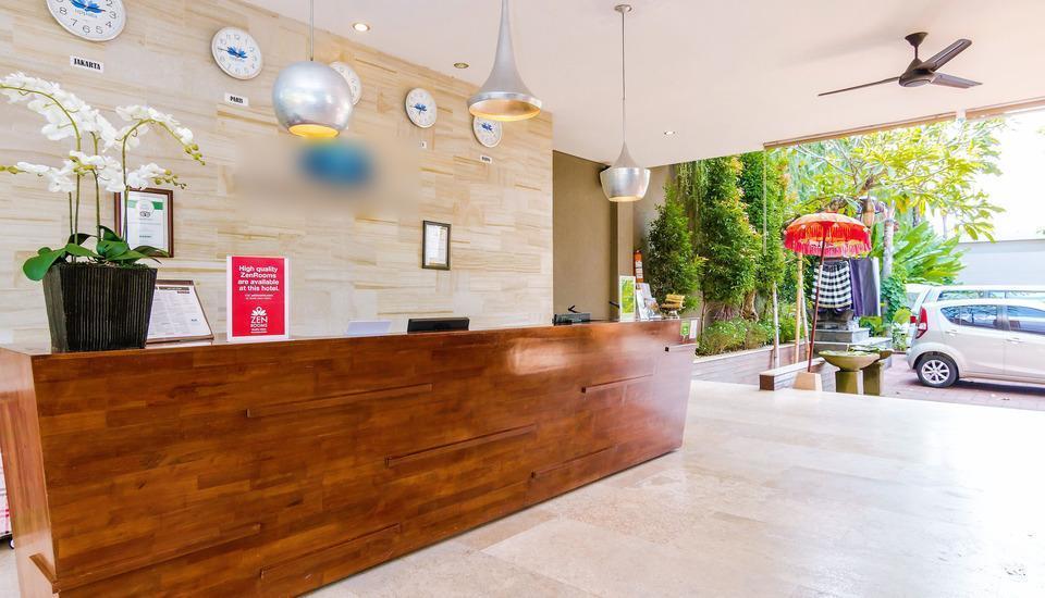 ZEN Premium Umalas Bumbak Villa Bali - Resepsionis