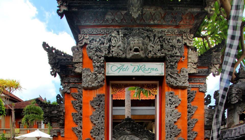Adi Dharma Cottages Bali - gerbang utama