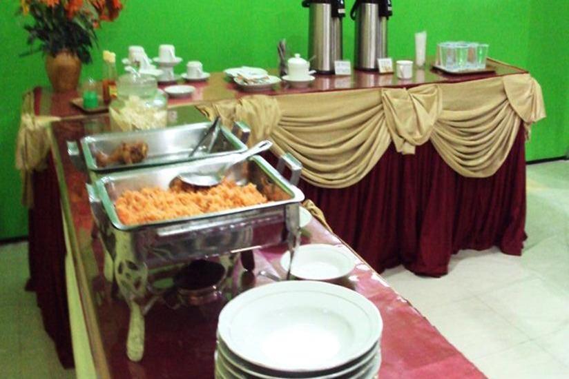 Hotel Djagalan Raya Surabaya - Ruang makan