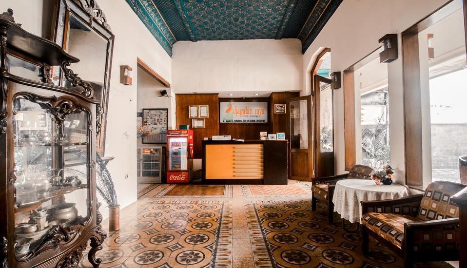 Hotel Djagalan Raya Surabaya - Reception
