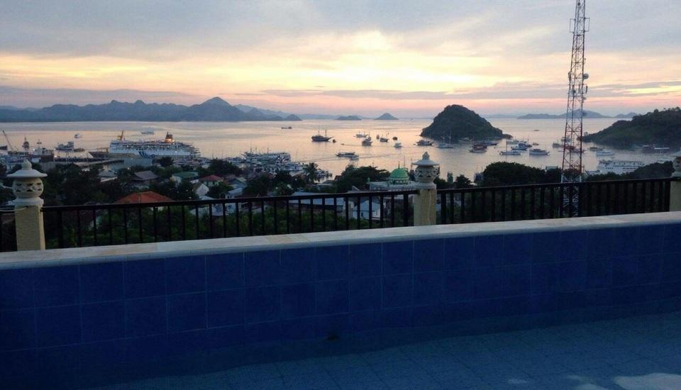 Mawar Hotel Labuan Bajo Flores -  View From Top