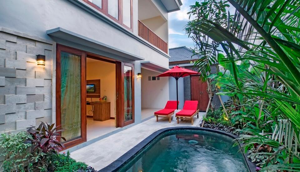 The Widyas Luxury Villa Bali - Private Pool in Two Bedroom Villa