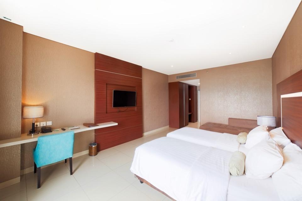 Clove Garden Hotel Bandung - Junior Suite Twin Bed Regular Plan