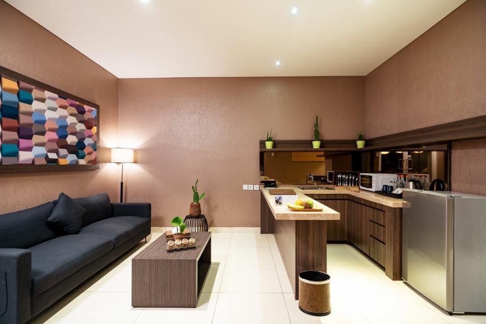 Clove Garden Hotel Bandung - Living Room (type Family Suite)