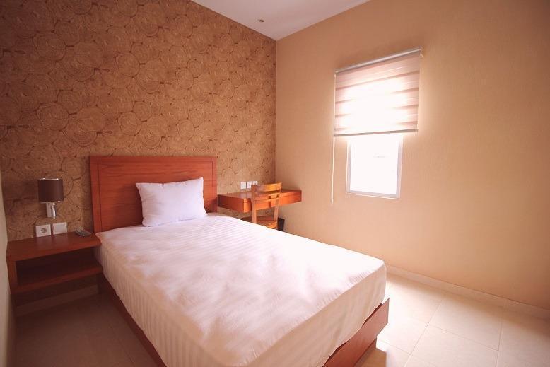 Amaya Suites Hotel Yogyakarta - Kamar bernuansa modern dengan kapasitas 1 orang dan sangat nyaman untuk di huni.