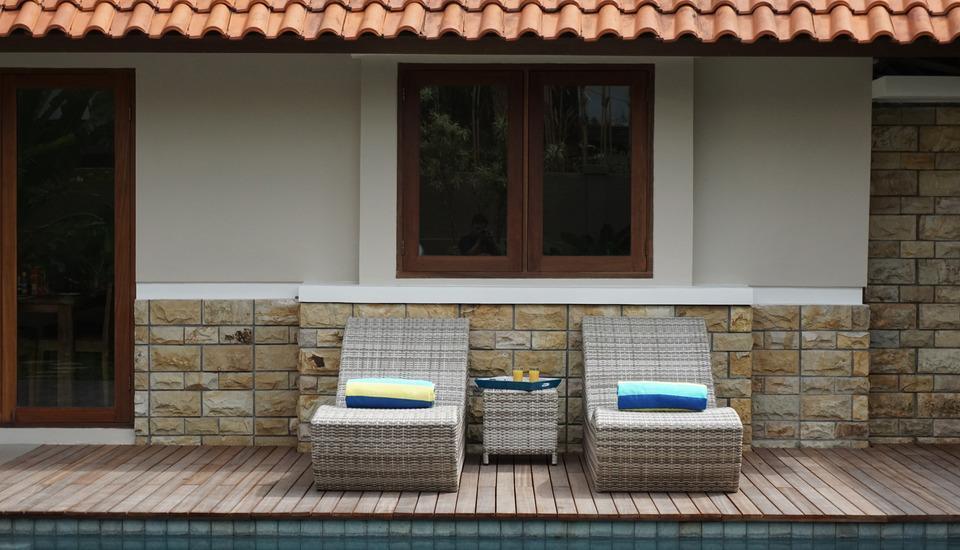 Dasa Villa Bali - Poolside