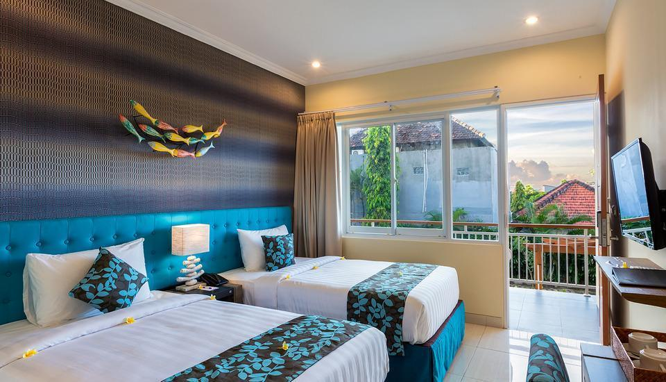 Destiny Boutique Hotel Bali - Deluxe Pool Access Room Only #WIDIH - Weekend Promotion Pegipegi