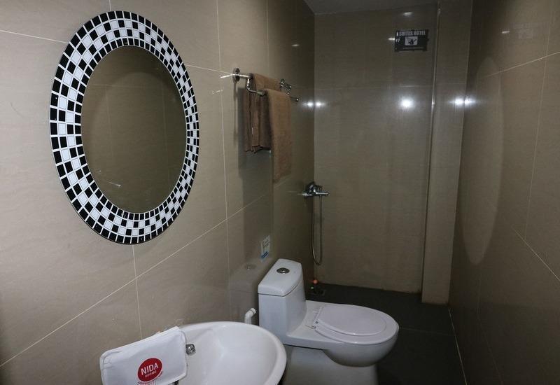 NIDA Rooms SPBU Sunggal - Kamar mandi