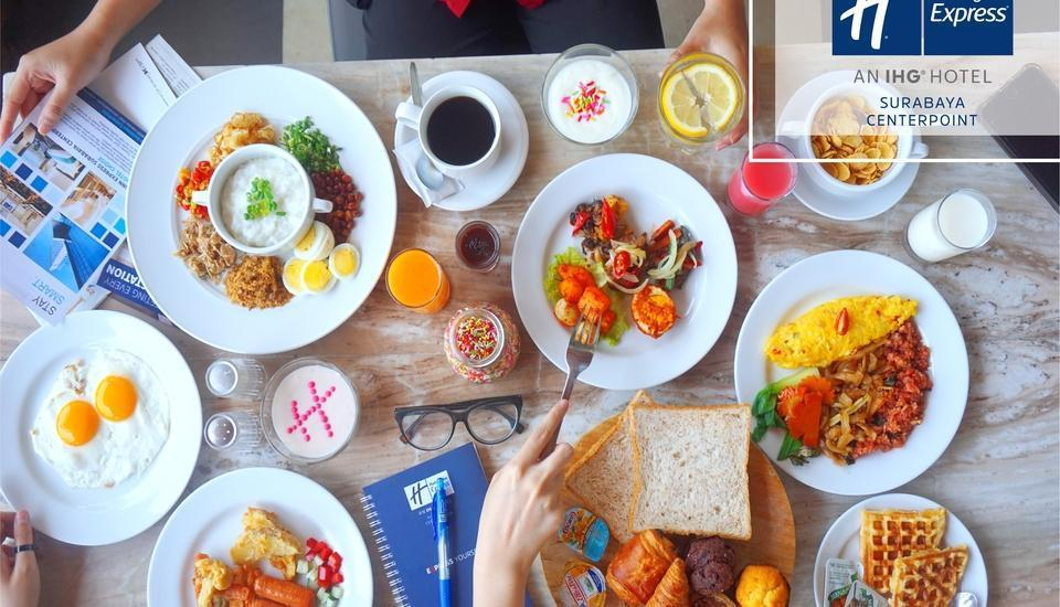 Holiday Inn Express Surabaya Central Plaza Surabaya - Breakfast