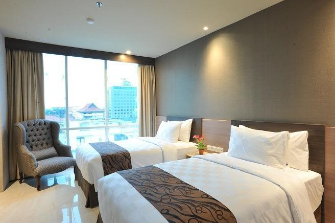 Hotel Aria Centra Surabaya Surabaya - Deluxe Twin Bed Room only Regular Plan