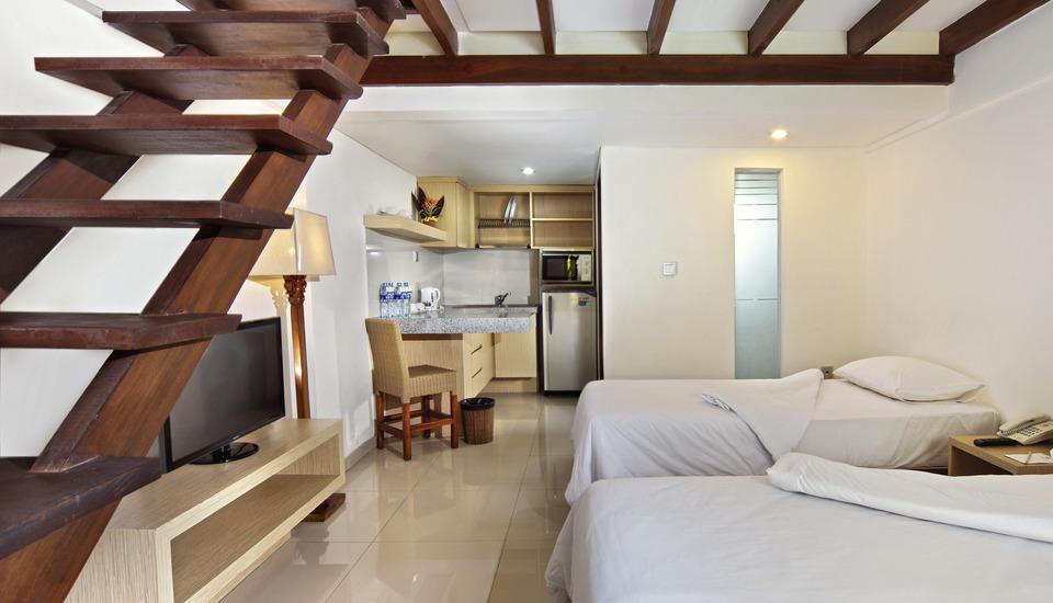 Legian Sunset Residence Bali - Family Standard Apartment Room Only Basic Deal