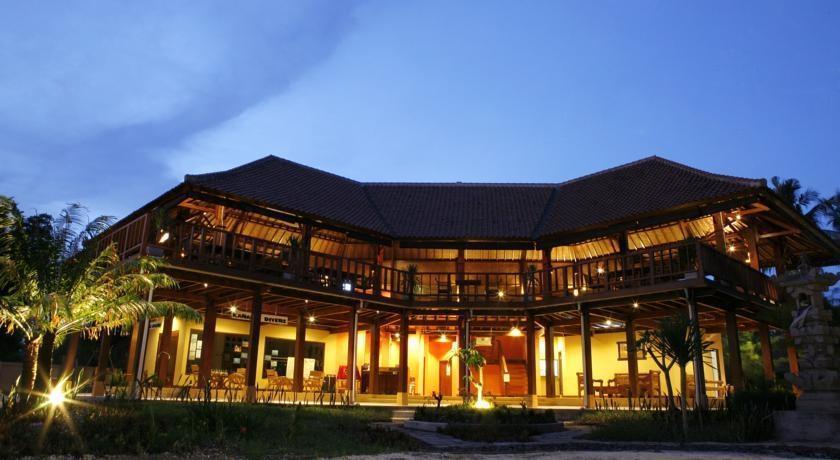 Villa Karang Hotel Lombok - Eksterior