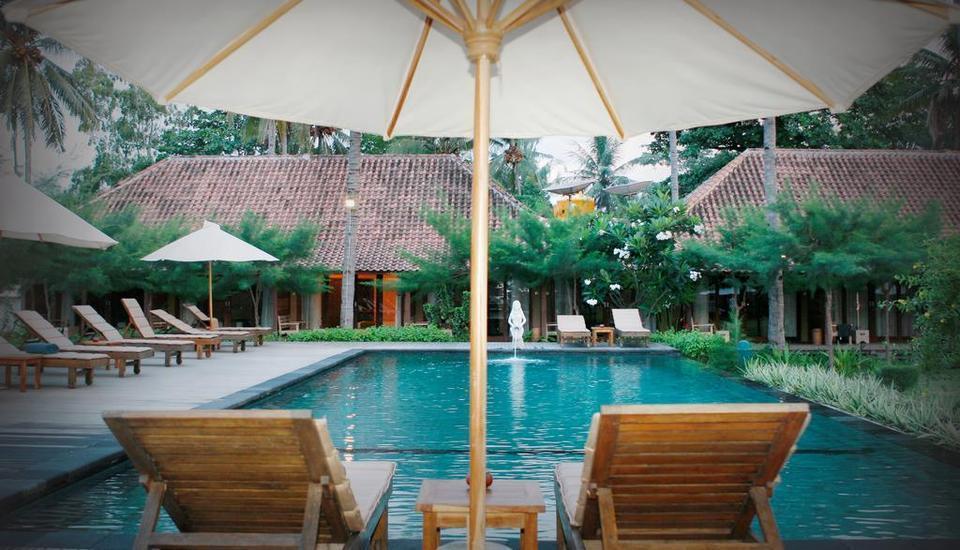 Villa Karang Hotel Lombok - Kolam Renang