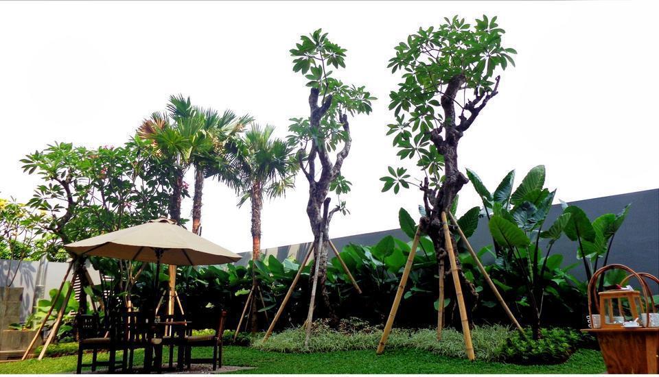 Soll Marina Hotel Serpong - Garden