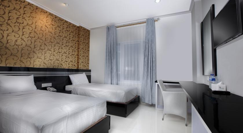 Violet Hotel Malioboro Yogyakarta - Deluxe Twin Bed Room Regular Plan