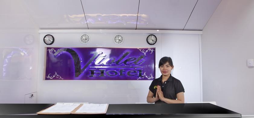 Violet Hotel Malioboro Yogyakarta - Resepsionis