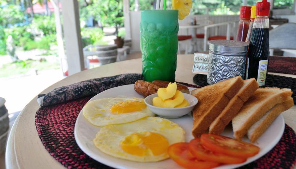 Gazebo Meno Hotel Lombok - Menu