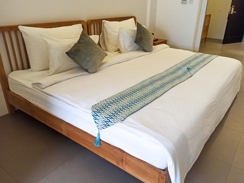 Kamar penginapan di K Gallery Hotel