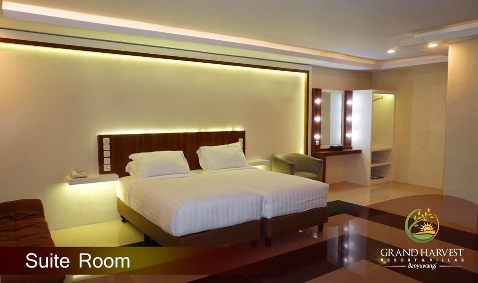 Grand Harvest Resort & Villas Banyuwangi - Suite Room with Mini Garden View FLASH SALE