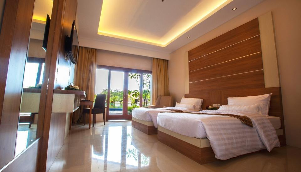 Grand Mulya Bogor Bogor - Grand Cabana Deluxe Twin Regular Plan