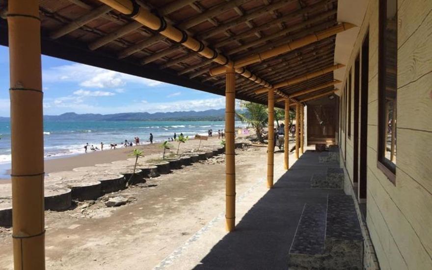 Wisma Pantai Citepus (Tepi Pantai) Sukabumi - Exterior
