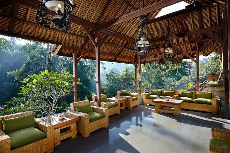 Tjampuhan Hotel Ubud - Lobi