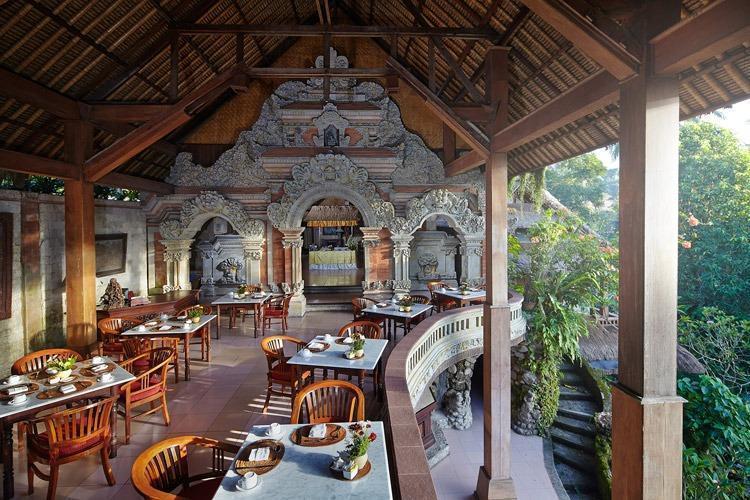 Tjampuhan Hotel Ubud - Ruang makan