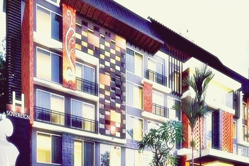 H Sovereign Bali - Tampilan Luar Hotel
