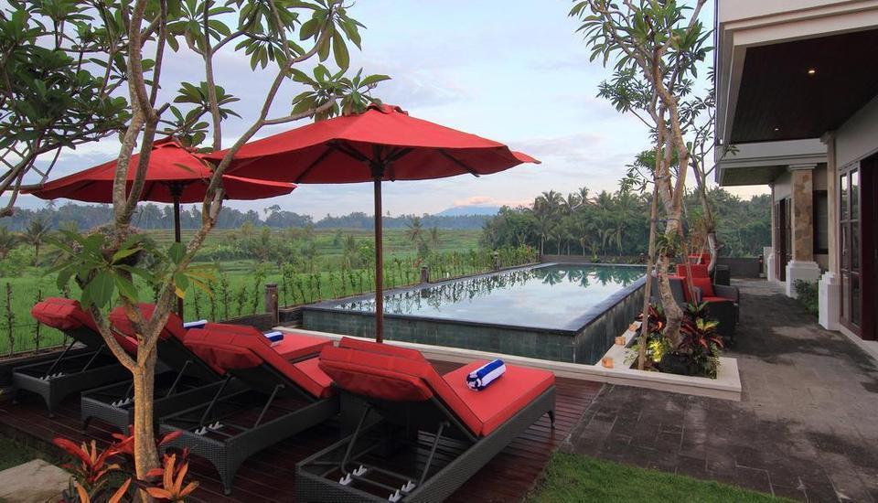 Uma Stana Villa Ubud - Kolam Renang