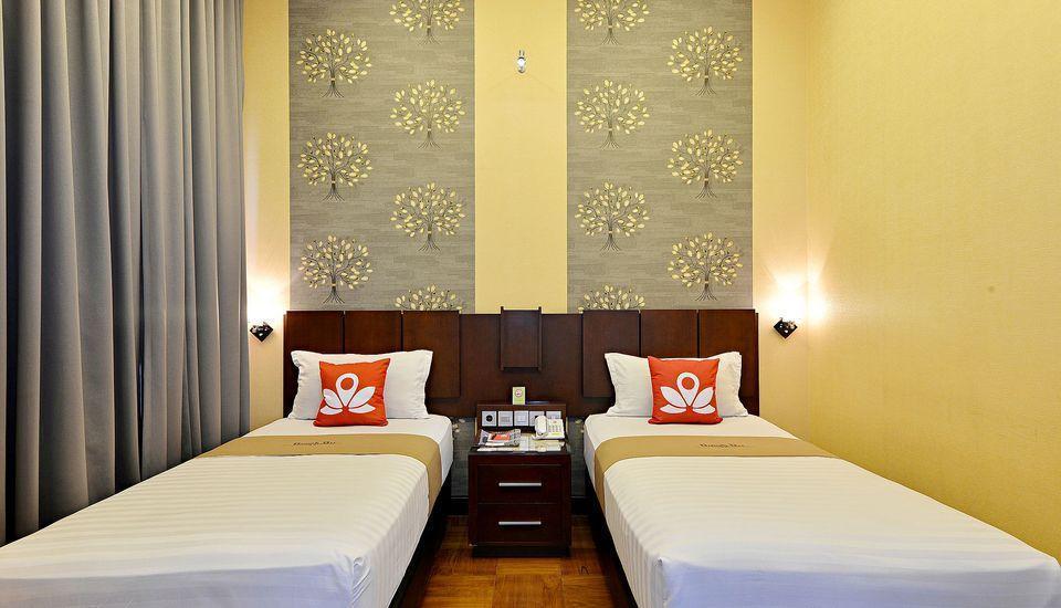 ZenRooms Bausasran 34 Pakualaman - Tampak tempat tidur twin