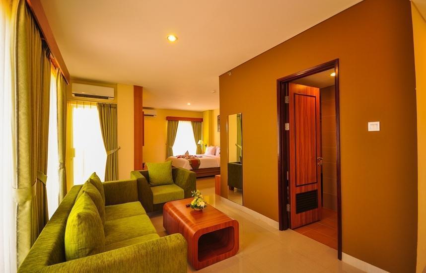 De Batara Hotel Bandung - Suite Living Room