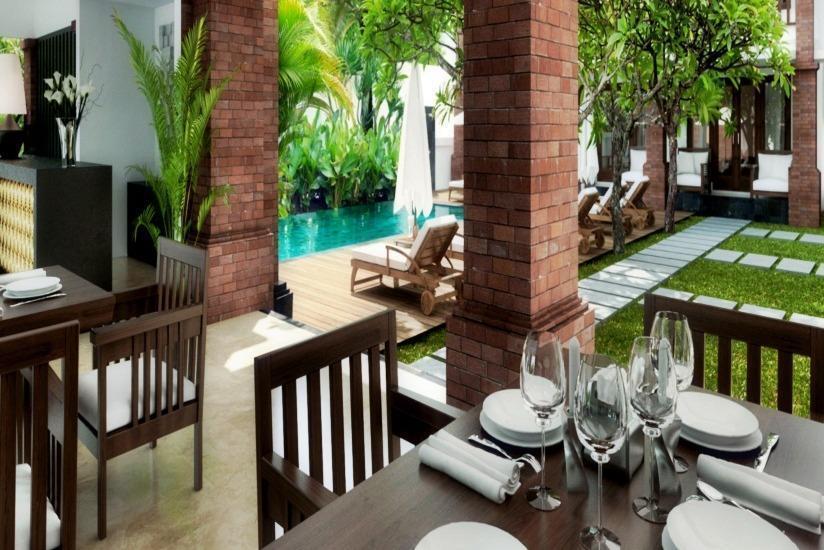 Grand Mirah Boutique Hotel Bali - Ruang makan