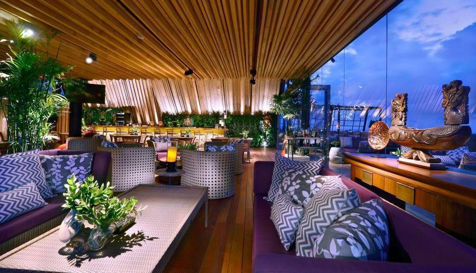 Vasanti Seminyak Resort Bali - Above Kitchen Lounge Bar