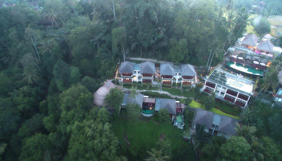 Jannata Resort & Spa Ubud - Pemandangan