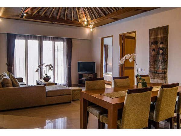 Sara Residence Bali - Ruang tamu 3 Kamar Penthouse
