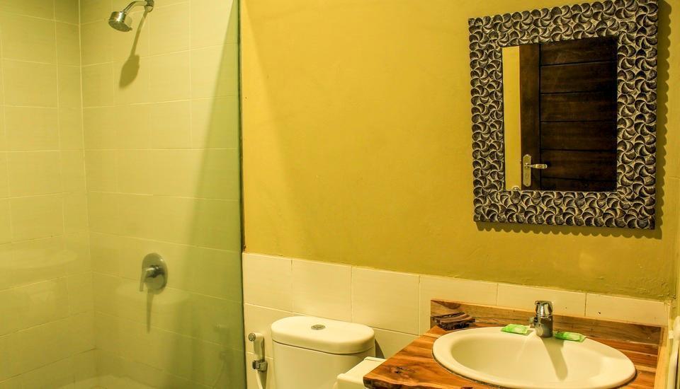 Villa Padi Cangkringan - kamar mandi