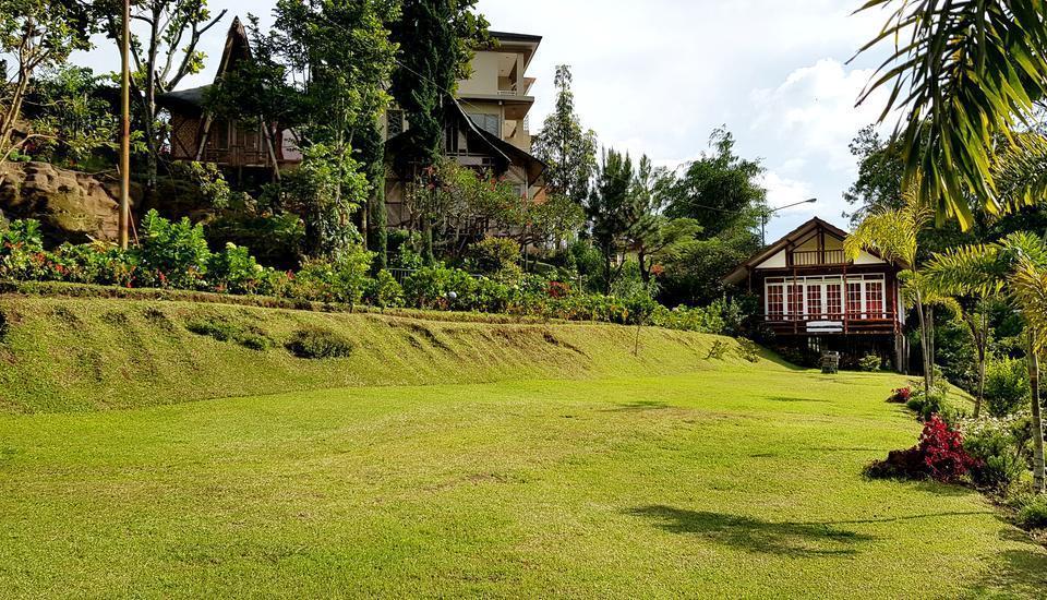 Bamboo Village Bandung - pemandangan