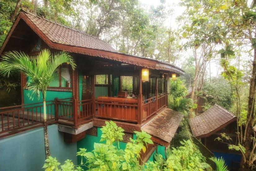 Villa Borobudur Magelang - Merapi Jungle Room Regular Plan