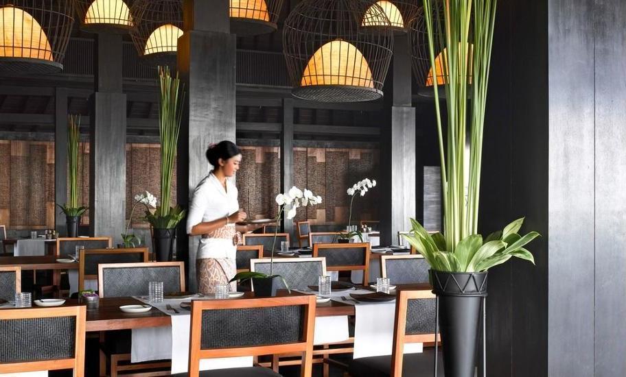 Bulgari Resort Bali - Breakfast Area