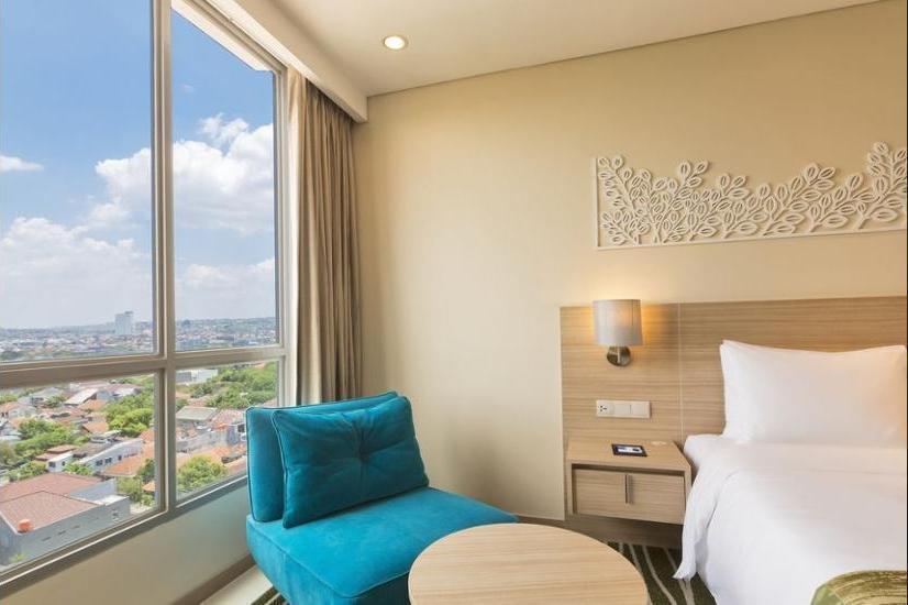 Holiday Inn Express Semarang Simpang Lima - Kamar, 1 tempat tidur queen, smoking Regular Plan