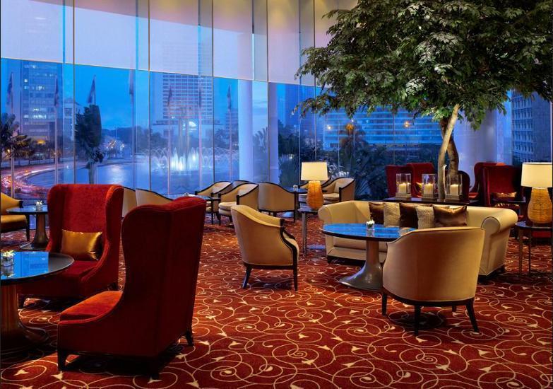 Grand Hyatt Jakarta - Lobby Sitting Area